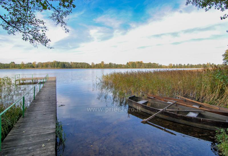 Žvejyba privačiame ežero, sodyboje SILVESTRO DVARAS - 16