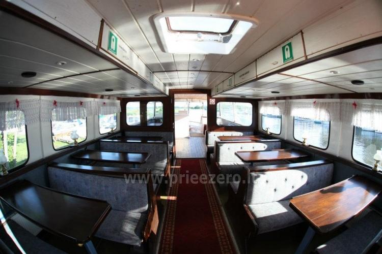 Keliaukite vandens keliu laivu Forelle - 2