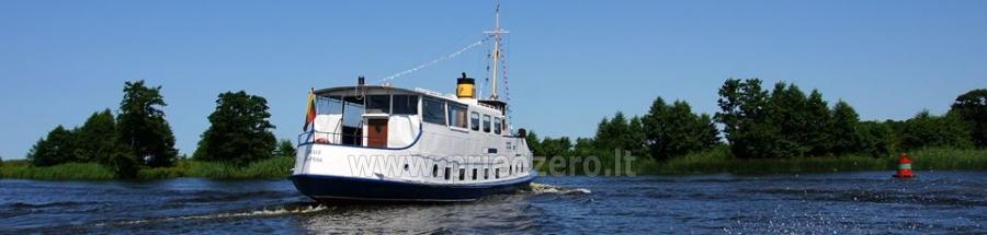 Keliaukite vandens keliu laivu Forelle - 4