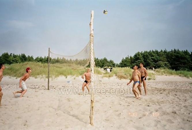 Biliardas, stalo tenisas, sporto aikštynai prie Papės ežero poilsio namuose Aulaukio Baltija - 2