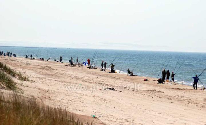 Žvejyba Papės ežere Latvijoje, valčių nuoma žvejams. Poilsio namai Aulaukio Baltija - 1