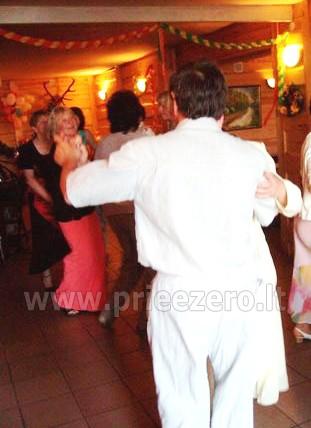 40 vietų salė vestuvėms, krikštynoms, gimtadieniui, įmonės šventei Molėtų rajone prie Bebrusų ežero sodyboje Giedrita - 10