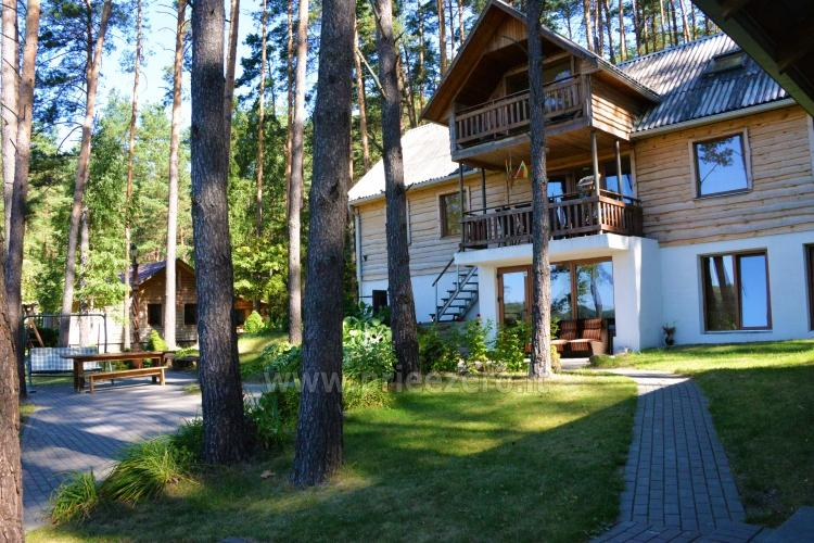 40 vietų salė vestuvėms, krikštynoms, gimtadieniui, įmonės šventei Molėtų rajone prie Bebrusų ežero sodyboje Giedrita - 16