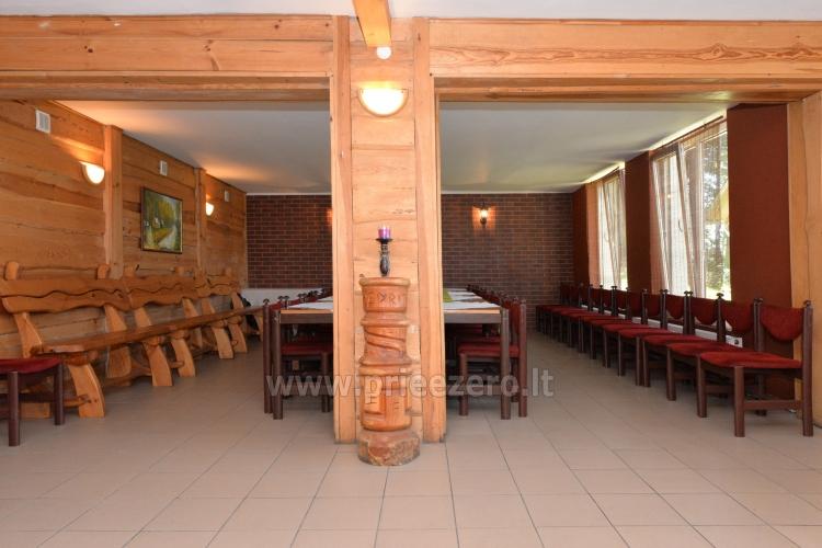 40 vietų salė vestuvėms, krikštynoms, gimtadieniui, įmonės šventei Molėtų rajone prie Bebrusų ežero sodyboje Giedrita - 6