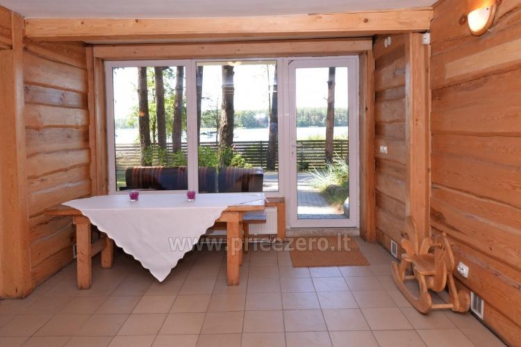 40 vietų salė vestuvėms, krikštynoms, gimtadieniui, įmonės šventei Molėtų rajone prie Bebrusų ežero sodyboje Giedrita - 7