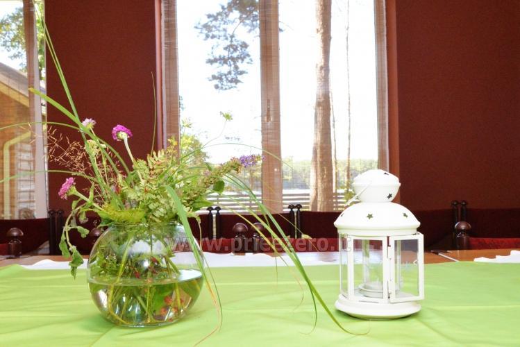 40 vietų salė vestuvėms, krikštynoms, gimtadieniui, įmonės šventei Molėtų rajone prie Bebrusų ežero sodyboje Giedrita - 5