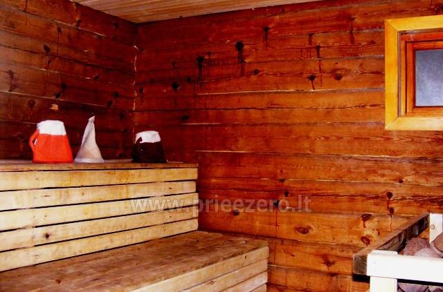 Pirtis ant Bebrusų ežero kranto Molėtų rajone sodyboje Giedrita - 6