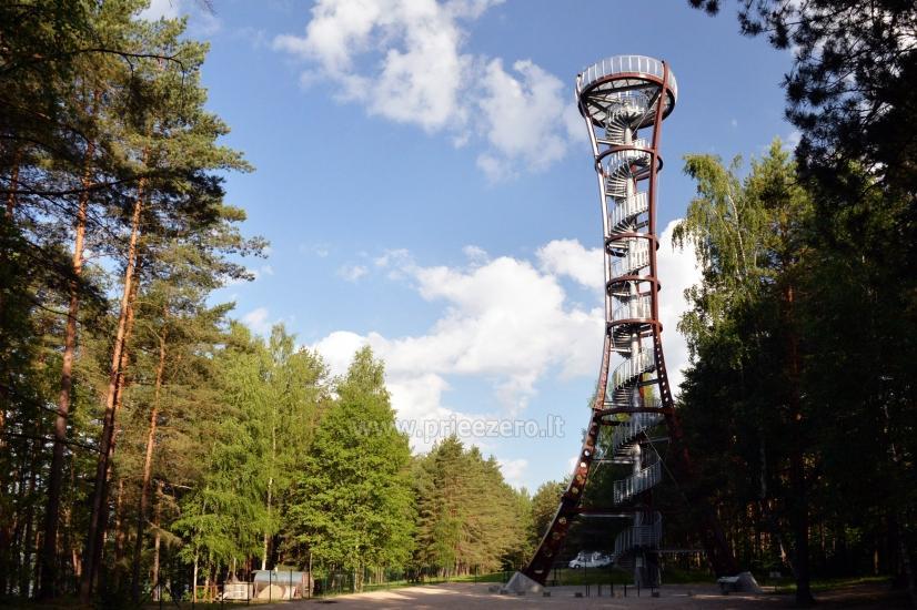 Mindūnų (Labanoro) apžvalgos bokštas - 1