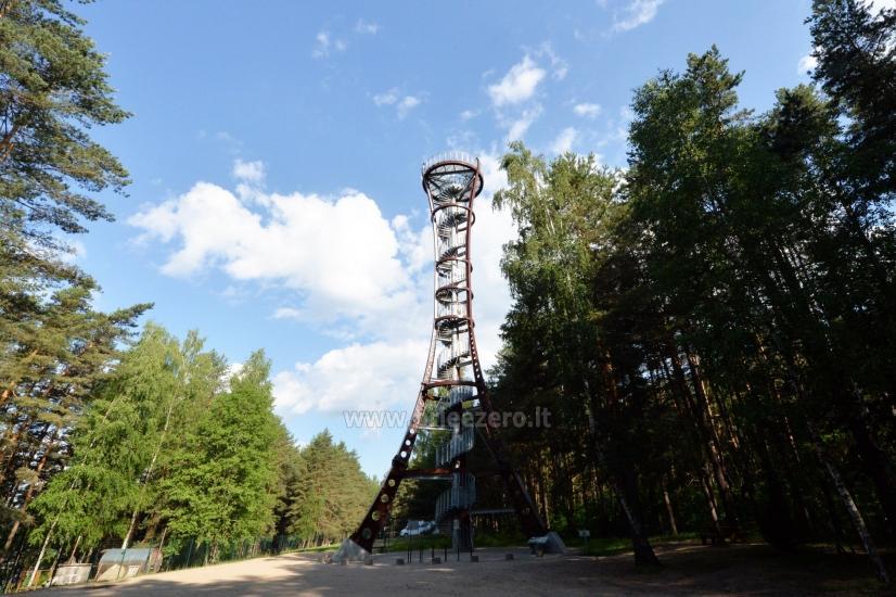 Labanoro regioninio parko (Mindūnų) apžvalgos bokštas - 2