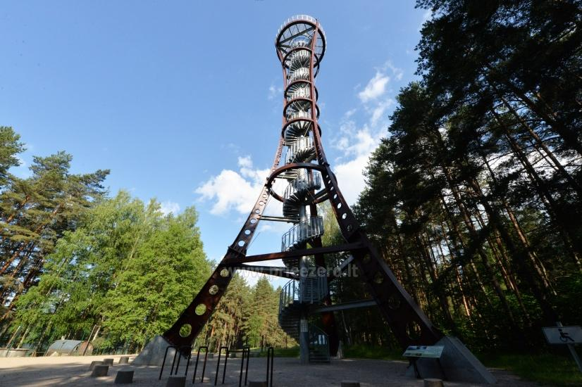 Labanoro regioninio parko (Mindūnų) apžvalgos bokštas - 3