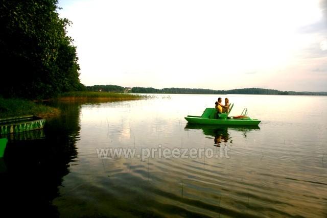 Vandens dviračiai, valtys, žvejyba Bebrusų ežere Molėtų rajone sodyboje Giedrita - 2