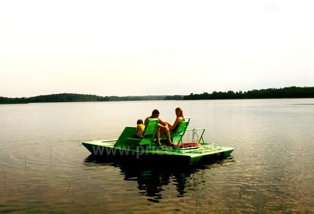 Vandens dviračiai, valtys, žvejyba Bebrusų ežere Molėtų rajone sodyboje Giedrita - 1