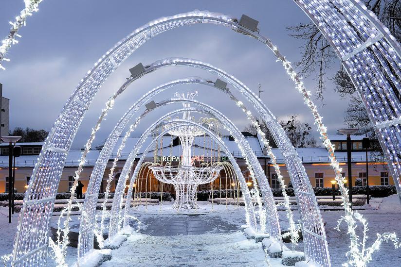 Kalėdų eglės įžiebimas Druskininkuose. 2020 m. gruodžio 4 d. - 7