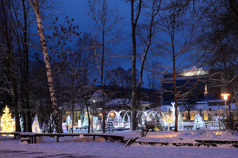 Kalėdų eglės įžiebimas Druskininkuose. 2020 m. gruodžio 4 d. - 8