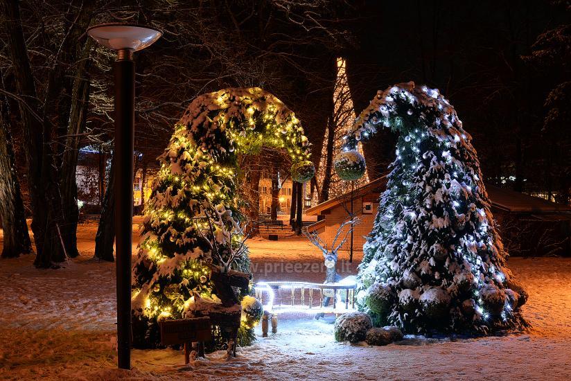 Kalėdų eglės įžiebimas Druskininkuose. 2020 m. gruodžio 4 d. - 10