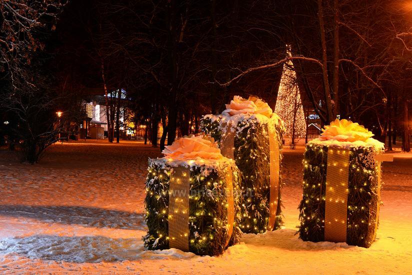 Kalėdų eglės įžiebimas Druskininkuose. 2020 m. gruodžio 4 d. - 11