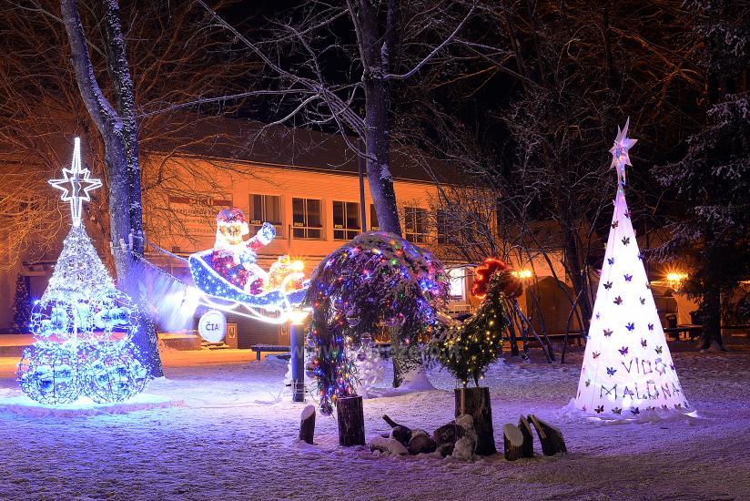 Kalėdų eglės įžiebimas Druskininkuose. 2020 m. gruodžio 4 d. - 12
