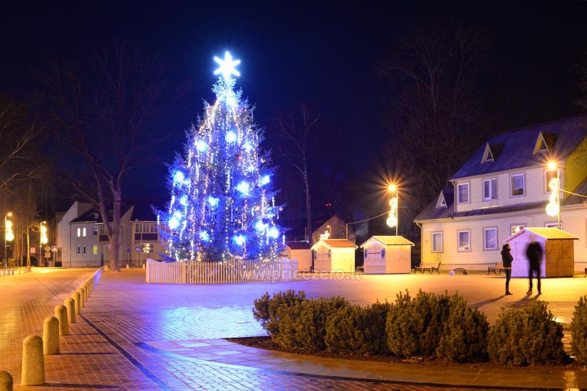2015-ųjų metų Birštono Šv. Kalėdų eglutė