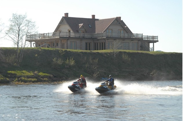 Valčių nuoma, žvejyba Ventos upėje, Svečių namai ir kempingas Ventpilio rajone Ventaskrasti - 2
