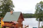 Pirtis ant ežero kranto Edmundo Dapkaus kaimo turizmo sodyboje Ignalinos rajone