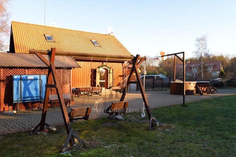 69 m iki jūros namas su pirtimi, kubilas Klaipėdos rajone KARKLĖS SODYBA - 7