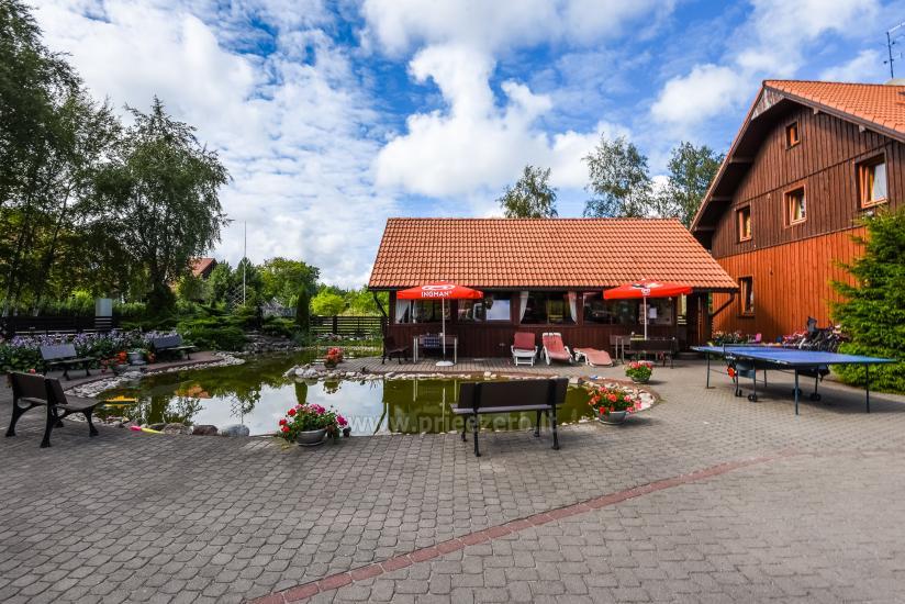 69 m iki jūros namas su pirtimi, kubilas Klaipėdos rajone KARKLĖS SODYBA - 4