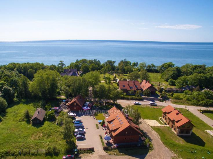 69 m iki jūros namas su pirtimi, kubilas Klaipėdos rajone KARKLĖS SODYBA - 8