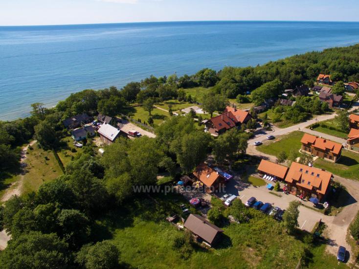 69 m iki jūros namas su pirtimi, kubilas Klaipėdos rajone KARKLĖS SODYBA - 2