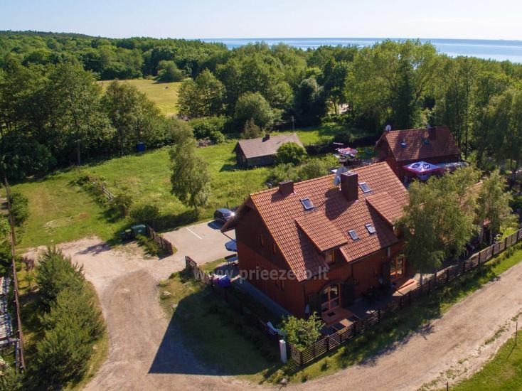 69 m iki jūros namas su pirtimi, kubilas Klaipėdos rajone KARKLĖS SODYBA - 5