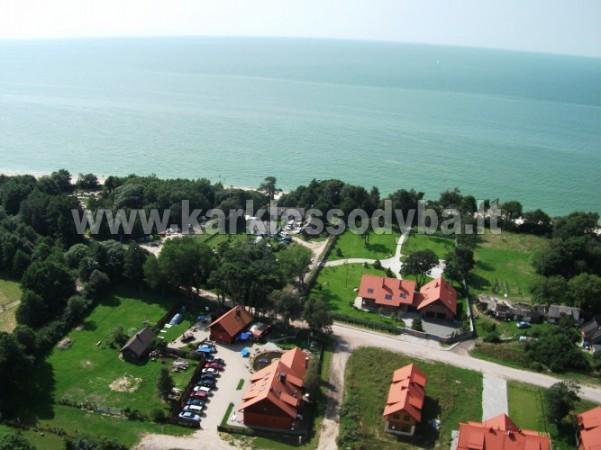 69 m iki jūros namas su pirtimi, kubilas Klaipėdos rajone KARKLĖS SODYBA - 9
