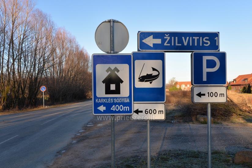 Romantiškas poilsis visus metus Klaipėdos rajone KARKLĖS SODYBA - 35
