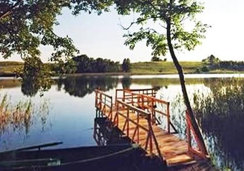 Pirtis, pulas, stalo tenisas sodyboje ant ežero kranto Žemuogynė - 2