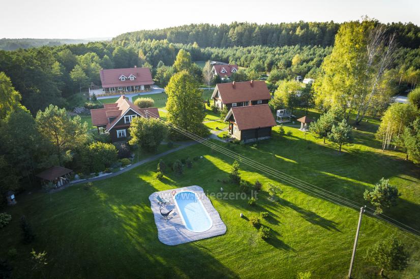Apartamentai, pirtis, baseinas Turauskų sodyboje Varėnos rajone. Laukiame Jūsų visus metus! - 2