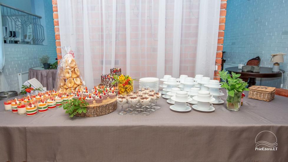 """Sodyba vestuvėms, krikštyboms, gimtadieniui, įmonės šventei """"Laukdvaris"""" - 16"""