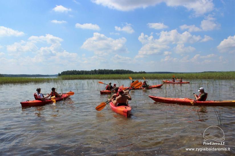 Žygiai baidarėmis Aukštaitijos upėmis - 3