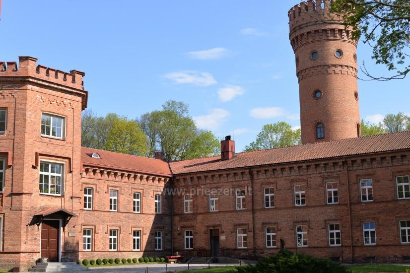 Raudonės pilis ir pilies parkas - 6
