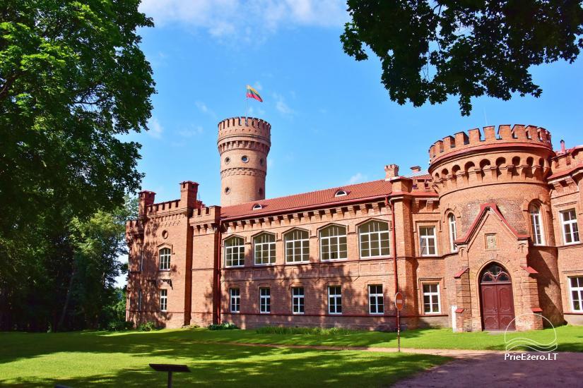 Raudonės pilis ir pilies parkas - 10
