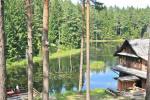 12 vietų vasarnamis su pirtimi ir kambariais prie Platelių ežero Saulės slėnis