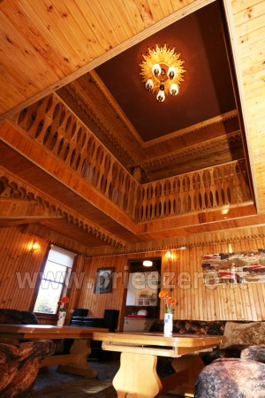 12 vietų vasarnamis su pirtimi ir kambariais prie Platelių ežero Saulės slėnis - 6