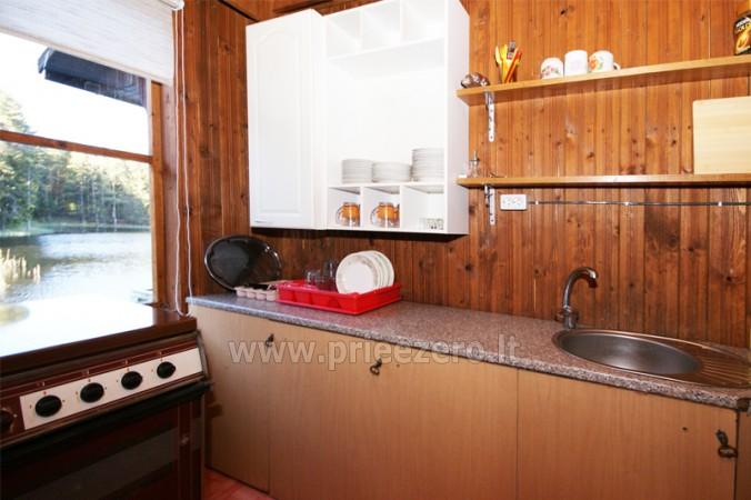 12 vietų vasarnamis su pirtimi ir kambariais prie Platelių ežero Saulės slėnis - 7