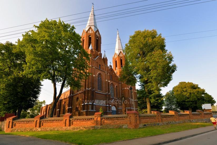 Apžvalgos aikštelė Šv. Mato bažnyčios bokšte Anykščiuose - 1