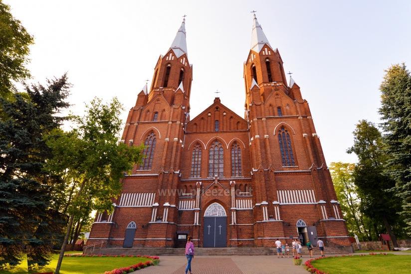 Apžvalgos aikštelė Šv. Mato bažnyčios bokšte Anykščiuose - 2