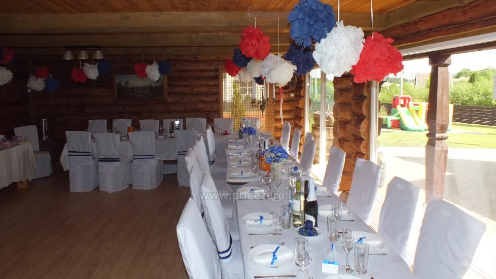Kavinė Seklyčia sodyboje Ignalinos r.: išskirtiniai patiekalai, šventės, vaikų gimtadieniai - 9