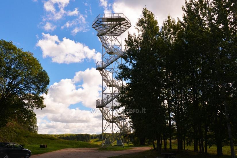 Vilkakalnio apžvalgos bokštas Ignalinoje - 1