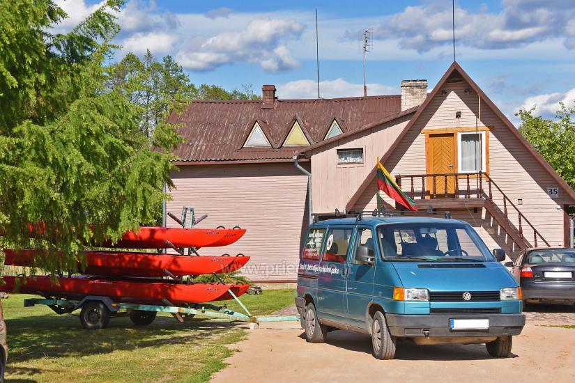 Baidarių nuoma sodyboje Gaidelių sodyba Ignalinos rajone - 4