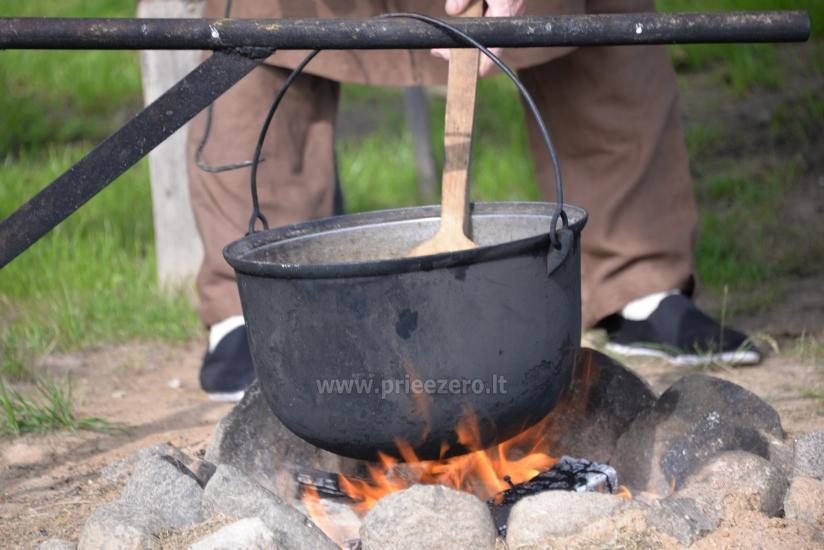 Edukacinė programa - žuvienės (tautinis paveldas) virimas Ignalinos rajone Gaidelių sodyboje - 4