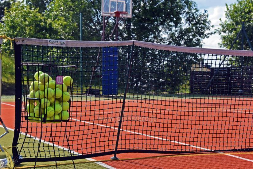 Teniso kortai, krepšinio ir tinklinio aikštelė sodyboje Saulėtekis Ignalinoje - 3