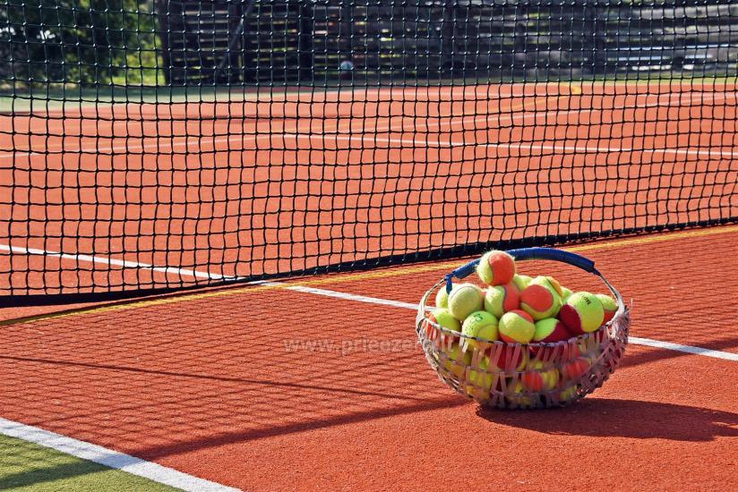 Teniso kortai, krepšinio ir tinklinio aikštelė sodyboje Saulėtekis Ignalinoje - 4