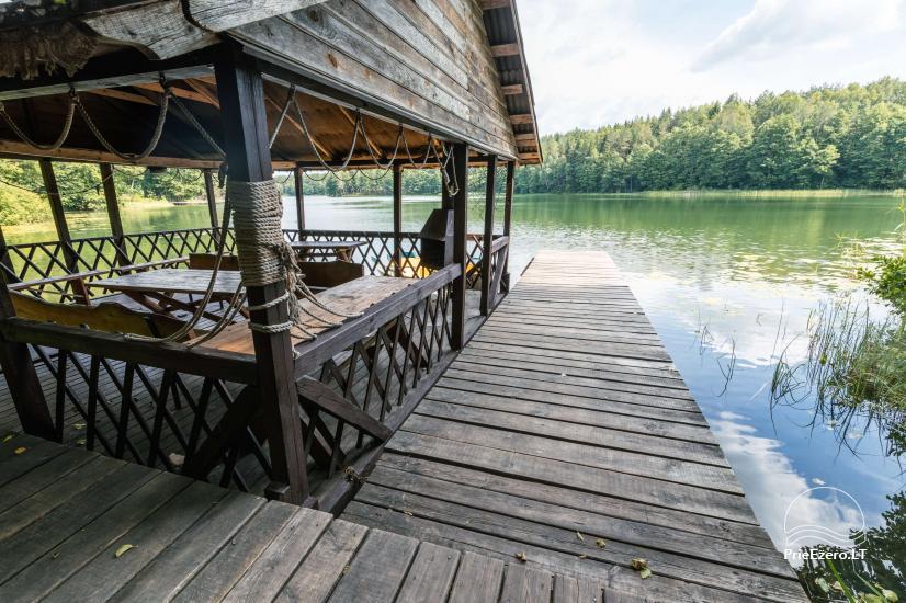 Namas su pirtimi ant Ilgučio ežero kranto - 2