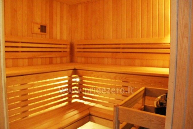 R&R Spa Villa Trakai - Banketų salė, sauna, Jacuzzi - 17